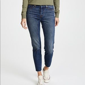Levi's Wedgie Icon Jeans with White Oak Cone Denim